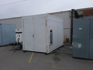 Steel Building Double Doors Each End Insulated