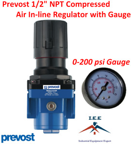 1 2 Female Npt Compressed Air In Line Regulator 225 Max Psi Prevost 141 Scfm