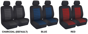 Pair Premium Jacquard Padded Seat Covers For Mg Mga Rwd Coupe