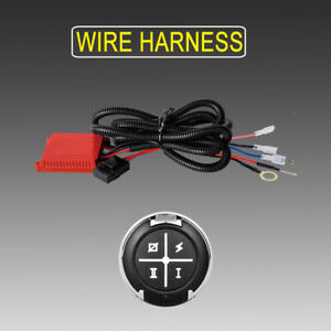 Dual Color Led Light Bar Wiring Harness Remonte Control Switch Kit Offroad 12v