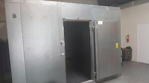 Nor lake 12 X 12 Fast trak Remote Refrigeration System walk in Freezer
