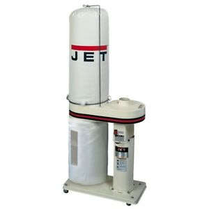 Jet 708642bk Dc 650 1hp Dust Collector With 30 Micron Filter Bags