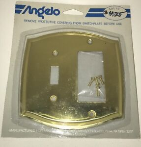 Brass Switch Plate And Outlet Covers By Angelo