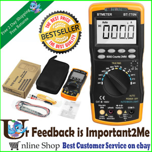 Multimeter Digital Avometer Universal Meter 6000 Counts Self locking Protection