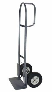 Milwaukee Hand Trucks 37029 D handle Truck With 10 inch Puncture Proof Tires And