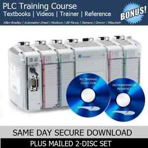 Allen Bradley Plc Training Course Manuals rslogix Automation Software Trainer