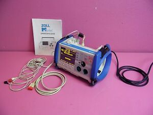 Zoll M Series 200 Joules Max Ecg Biphasic Defib Patient Monitor