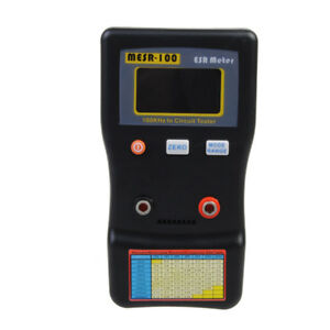 Mesr 100 Auto Ranging Esr Low Ohm Circuit Capacitor Meter Tester
