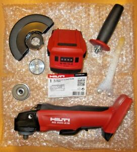 Hilti Ag 500 A 18 Cordless Grinder Tool Only New