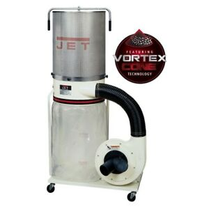 Jet 710704k Dc 1200vx ck3 Dust Collector 2hp 3ph 230 460v 2 micron Canister