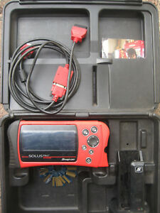 Snap On Eesc316 Solus Pro Diagnostic Scanner Updated 14 4 With Keys