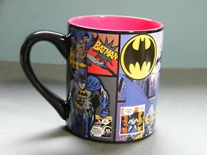 DC COMICS SILVER BUFFALO BATMAN COFFEE MUG 14 oz NOS NWOT Condition