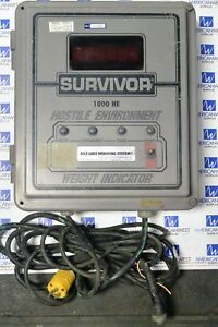 Rice Lake Weigh Systems El3900 Survivor 1000 He Weighing System Indicator