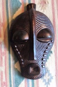 Large Replica African Songye Kifwebe Luba People Tribal Mask Republic Of Congo