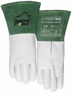 Weldas Thundering Bison Tig Welding Gloves Hand Bison Leather Work Glove