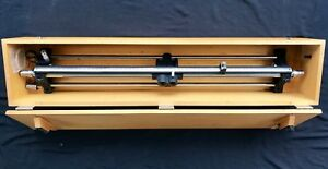 General Radio 874 lb Slotted Line W Wooden Case Uhf Calibrator Measure Us Army