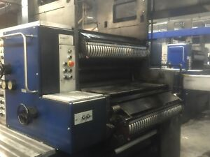 Solna Web Press 22 75 Cutoff D301 Type 310b 1993 And 1997 Year Models 4 Units