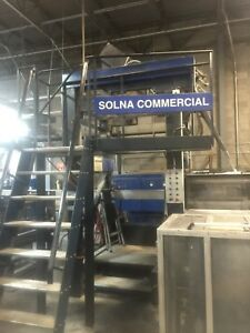 Solna Web Press Folders 22 75 F303b And F303 Folders 1993 and 1997