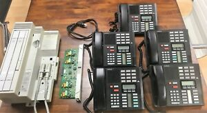Nortel Networks Norstar Compact Ics System 4 Lines 5 Phones Expansion Chip