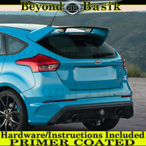 2012 2018 Ford Focus Hatchback Rs Factory Style Spoiler Wing Abs Primer