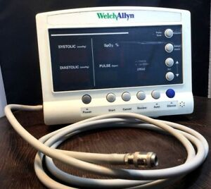 Welch Allyn 52000 Series Vital Signs Patient Monitor No Power Cord Spo2 Kp