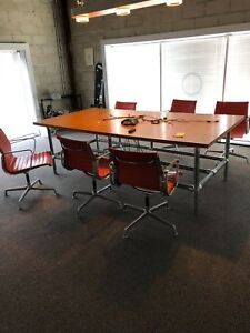 Eames Aluminum Conference Room Chairs