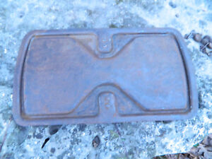 54 55 56 Dodge Job Rated Battery Box Cover Lid