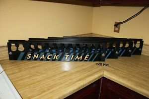 Snacktime Vending Machine Set Of 4 Coin Tray Front Cover Label W key Lock Panel