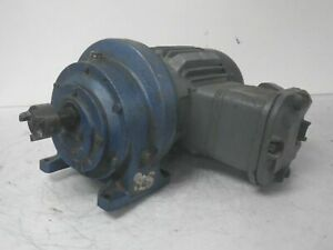 E168310 2535205 01 Hawker Siddeley Electric Motor With Gearbox used Tested
