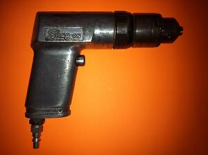 Snap On Air Drill Model Pd3 Heavy Duty Works Great