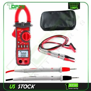 Manual auto Range Switch Digital Clamp Meter Multimeters Ac dc Voltmeter Current