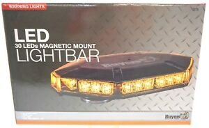 Amber Led Light Bar Mini 8891100 Buyers Product Company New 12v 3 5amps