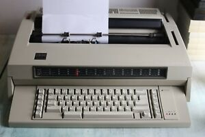 Vintage Ibm Wheelwriter 3 Electric Typewriter Tested