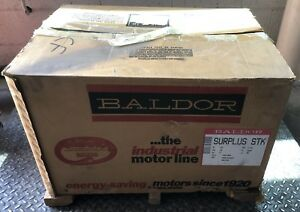 Baldor Electric Industrial Motor 10 Hp Three Phase 09c101x627