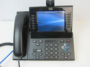 Cisco 9971 Cp 9971 c k9 V12 Unified Color Video Voip Ip Phone Camera