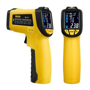 Infrared Thermometer 58 f 1022 f Digital Ir Temperature Gun Non Contact Lasers
