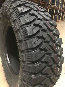 4 New 33x12 50r22 Centennial Dirt Commander M T Mud Tires Mt 33 12 50 22 R22 Lrf