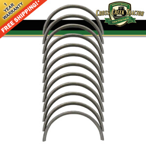 3056834 6 New Rod Bearing Set 010 For Case ih Tractors 686 706 756 2706 2756