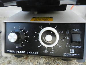 Barnstead lab line Titer Plate Shaker Model 4625 Variable Speed W timer