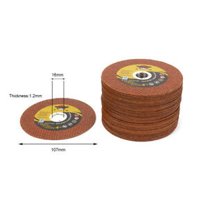 4 Inch Resin Cutting Wheel Disc Metal Cut Off Blade For Iron Angle Ginder 50pcs