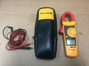 Fluke 902 Hvac Clamp Meter With Leads And Case