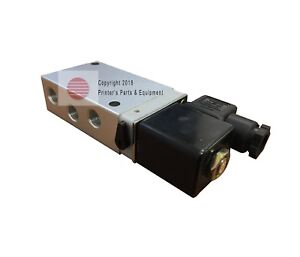Cylinder Valve 5 2 Way Solenoid 220 V Offset Printing Parts