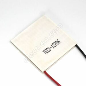 Thermoelectric Cooler peltier Module 63w 40x40x3 9mm Tec1 12706