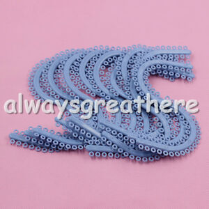 Crazy Sale 20 Pack Dental Orthodontic Separators Ties S Type Blue Color Ce