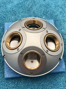 Olympus Microscope Objective Centerable Nosepiece For Bh2 Pol