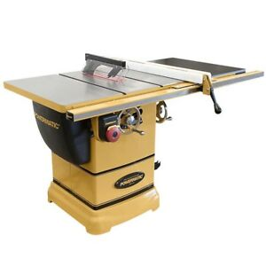 New Powermatic 1791000k Pm1000 Table Saw 1 3 4hp 1ph 30 Rip W accu fence System