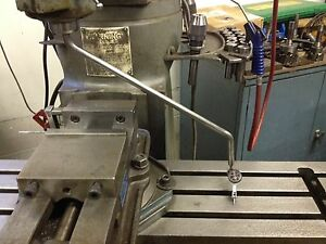 Bridgeport Mill Tramming Bar Tram Your Mill Without Removeing Your Vise Fo 7 32