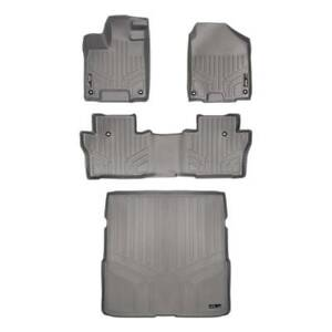 Maxliner 16 19 Fits Honda Pilot Floor Mats Maxtray Cargo Liner 2 Row Set Grey