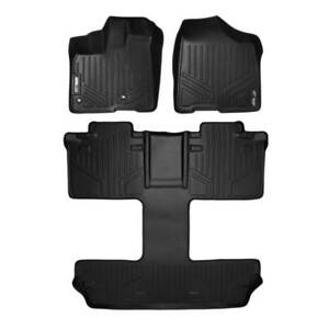 Maxliner 2013 2019 Fits Toyota Sienna 7 Passenger Model Floor Mats 3 Row Set