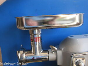 Meat Grinder For Globe Dough Mixer Sp20 Sp25 Sp40 Sp30 Sp60 P Stainless Steel